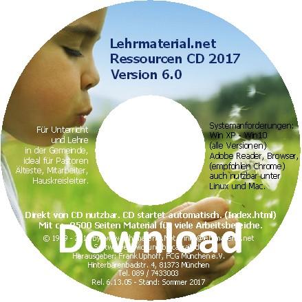 Lehrmaterial CD zum Download